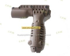 Foregrip Flashlight Holder and Bipod(tan)